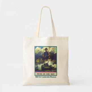 We're On Our Way Tote Bag