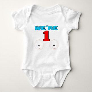 Were ONE BOY/BOY Baby Bodysuit