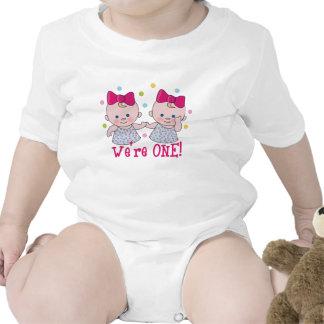 We're One Girls Birthday T-shirt