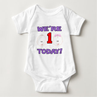 Were ONE Today BOY/GIRL Tee Shirt