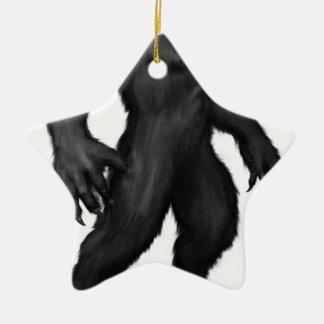 Werewolf #2 ceramic ornament