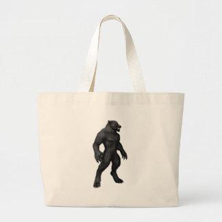 Werewolf #2 large tote bag