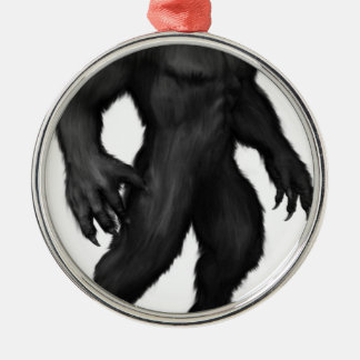 Werewolf #2 metal ornament