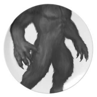Werewolf #2 plate