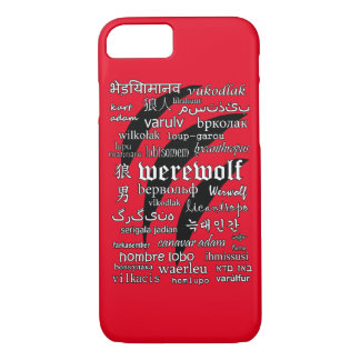 Werewolf Apple iPhone 7, Barely There Phone Case