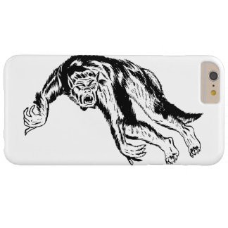 Werewolf Attack! Retro Vintage Illustration Barely There iPhone 6 Plus Case