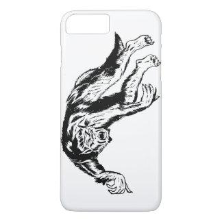 Werewolf Attack! Retro Vintage Illustration iPhone 7 Plus Case