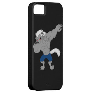werewolf Dabbing Funny Halloween Dab Dance Case For The iPhone 5