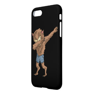 werewolf Dabbing Funny Halloween Dab Dance iPhone 8/7 Case