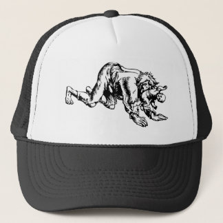 Werewolf Eating Baby Trucker Hat