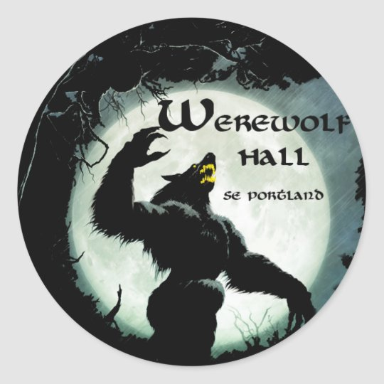 Werewolf Hall Stickers