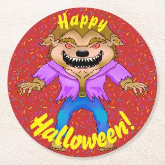 Werewolf Halloween Coasters