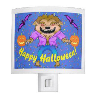 Werewolf Halloween Night Light