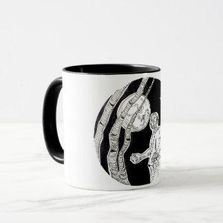 Werewolf hitchhiker mug