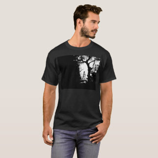 Werewolf in Forest T-shirt