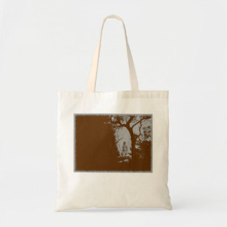 Werewolf in Forest Variant Tote