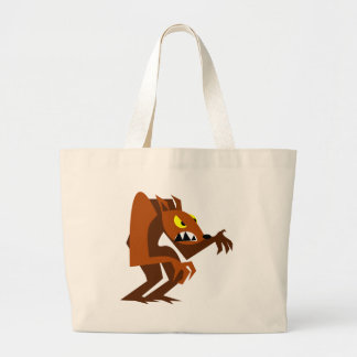 Werewolf Large Tote Bag