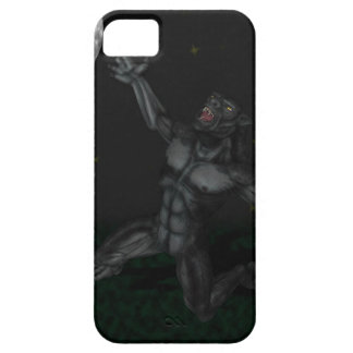 Werewolf Lycan Howling and Baying At The Moon iPhone 5 Case