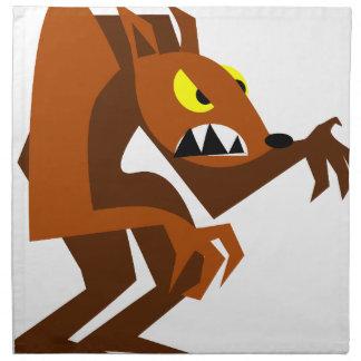 Werewolf Napkin