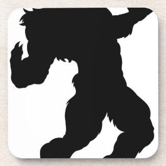 Werewolf Silhouette Coaster