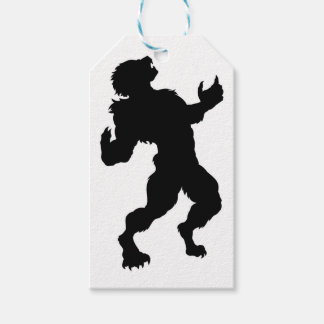 Werewolf Silhouette Gift Tags