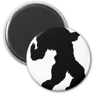 Werewolf Silhouette Magnet