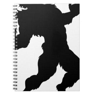 Werewolf Silhouette Notebook
