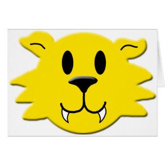 Werewolf Smiley Card