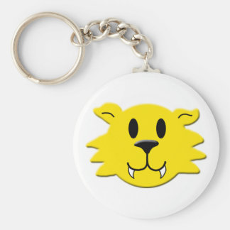 Werewolf Smiley Keychain