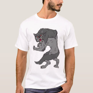 """Werewolf"" T-Shirt by Nathan Lee James"