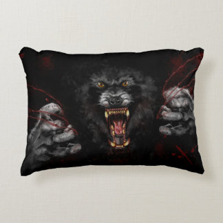 Werewolf Tearing Out Your Heart Decorative Pillow