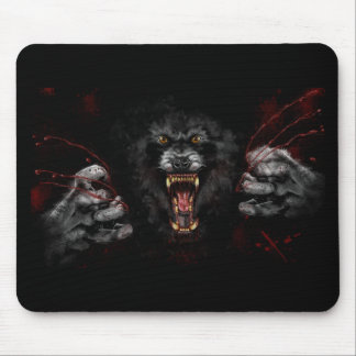 Werewolf Tearing Out Your Heart Mouse Pad