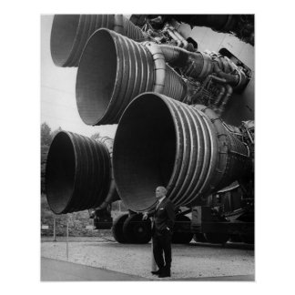 Werner von Bran et la fusée Saturn v