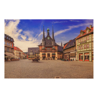 Wernigerode-Germany Wood Wall Decor