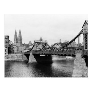 Weser Bridge, Bremen, c.1910 Postcard