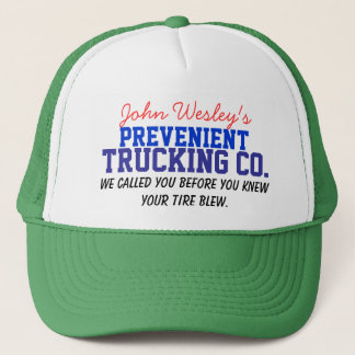 Wesley's Trucking Co. Trucker Hat