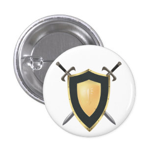 Wesnoth shield & crossed swords logo buttons