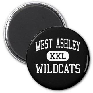 West Ashley - Wildcats - High - Charleston Refrigerator Magnets