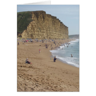 West Bay beach Card