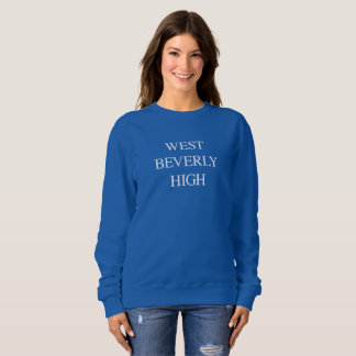 West Beverly Hills High School Sweatshirt 90210