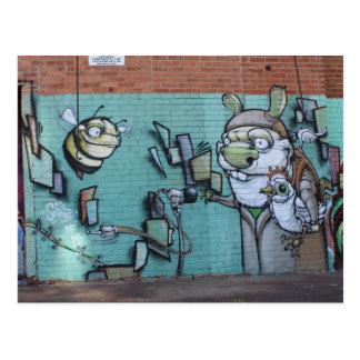 West Bottoms Graffiti Artwork # 15 Postcard