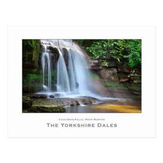 West Burton Falls, The Yorkshire Dales - Postcard