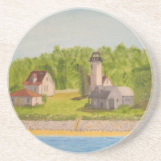 West Chop Lighthouse-Martha's Vineyard Coaster