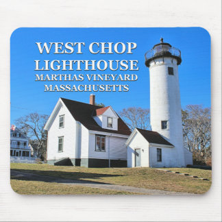 West Chop Lighthouse, Marthas Vineyard MA Mousepad