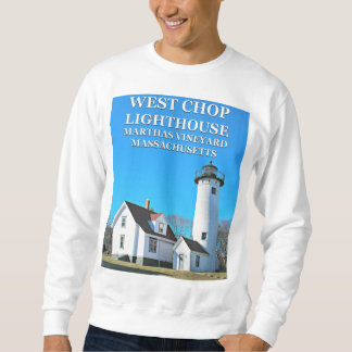 West Chop Lighthouse, Marthas Vineyard Sweatshirt