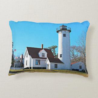 West Chop Lighthouse Massachusetts Accent Pillow