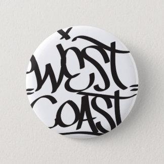 west coast 2 inch round button