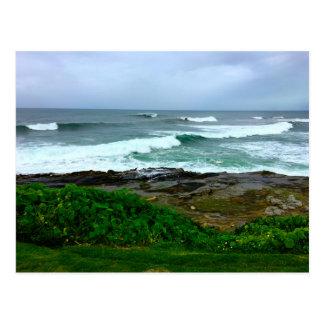 West Coast Calm Before the Storm Postcard