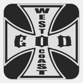 West Coast EOD Sticker (Black)