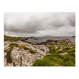 """West coast of Ireland"" postcards"
